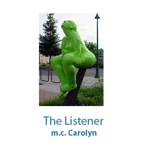 The Listener by m.c. Carolyn