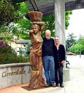 Peter Crompton and Robyn Spencer Crompton
