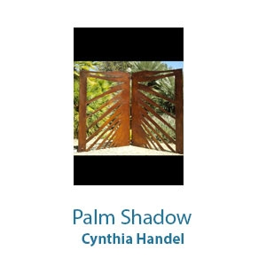 Palm Shadow by Cynthia Handel