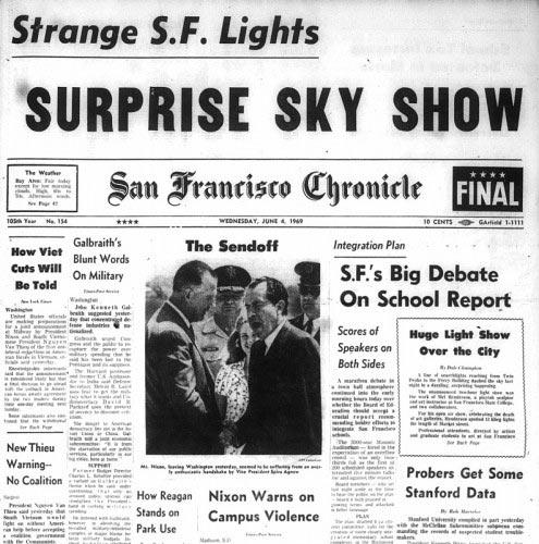 San Francisco Chronicle Headline